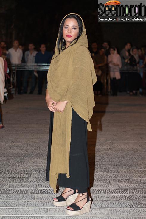 چهره ملیکا شریفی نیا در جشن خانه سینما