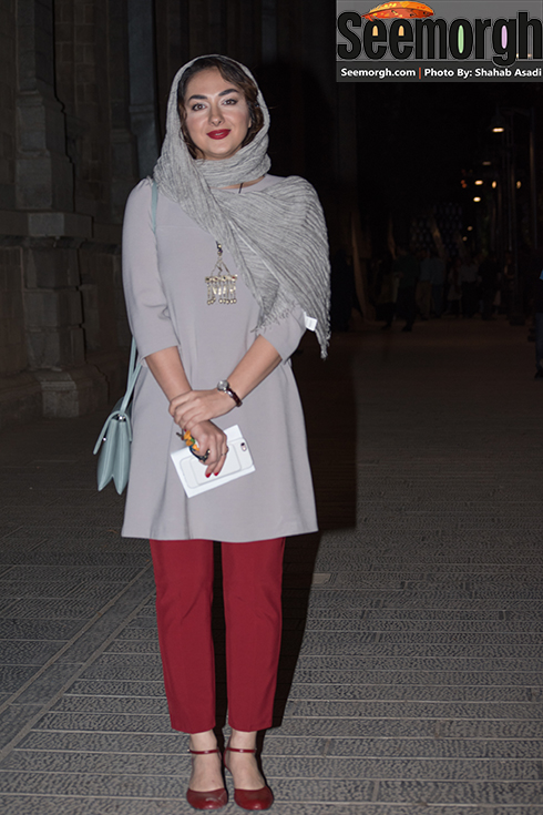 هانیه توسلی در جشن خانه سینما