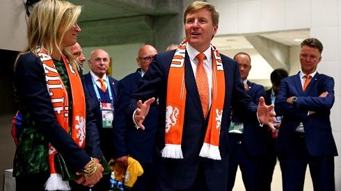 عکس پادشاه و ملکه هلند