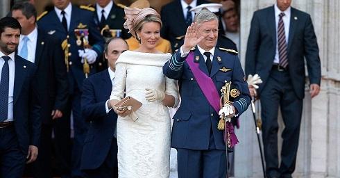 عکس پادشاه و ملکه بلژیک