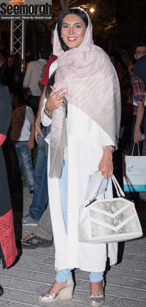 مدل لباس لیلا بلوکات در جشن خانه سینما