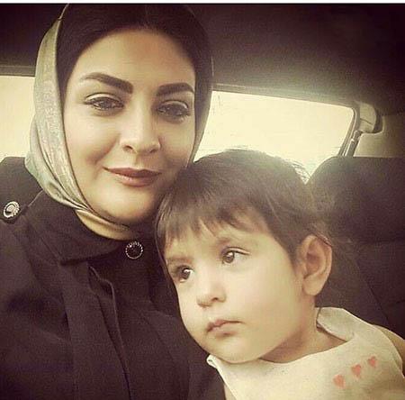 لیلا ایرانی و دخترش دیانا