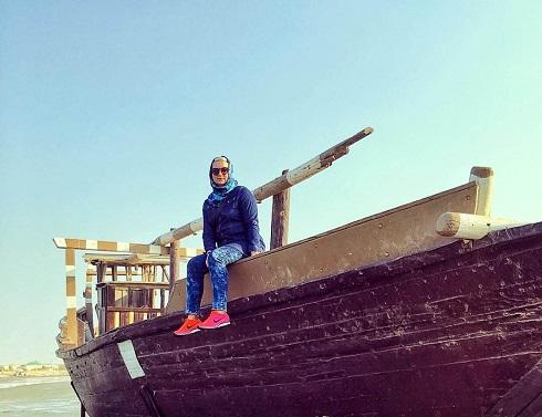 لیلا رجبی در بوشهر