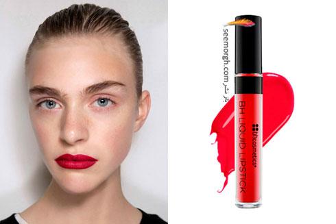 رژ لب قرمز برای تابستان 2016