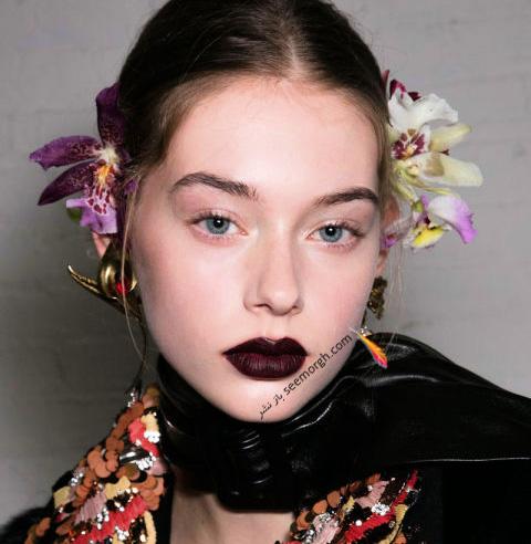 آرایش لب برای پاییز 2016 - رژ لب شماره 1