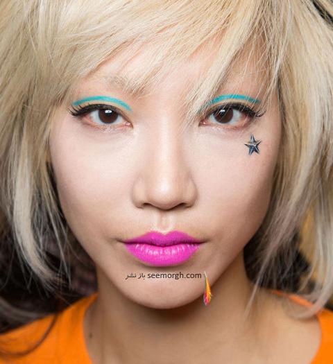 آرایش لب برای پاییز 2016 - رژ لب شماره 6