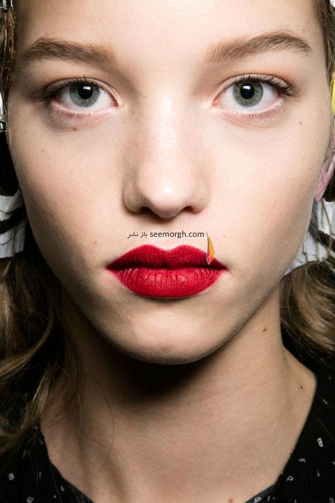 آرایش لب برای پاییز 2016 - رژ لب شماره 9