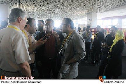 مجری شبکه منوتو در جشنواره بین المل فجر