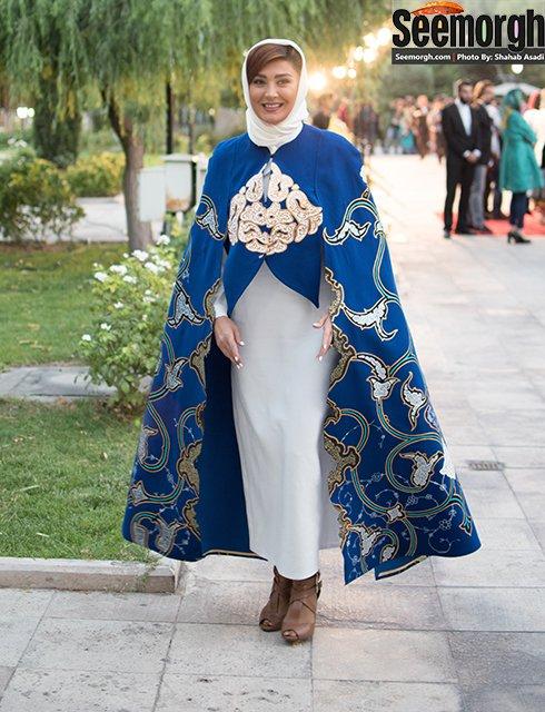 مدل لباس مریم معصومی در جشن حافظ