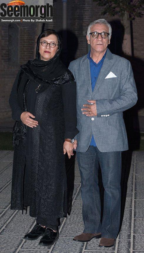 مدل لباس مسعود رایگان در جشن خانه سینما