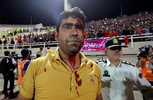 عکس درگیری هواداران پرسپولیس و استقلال خوزستان