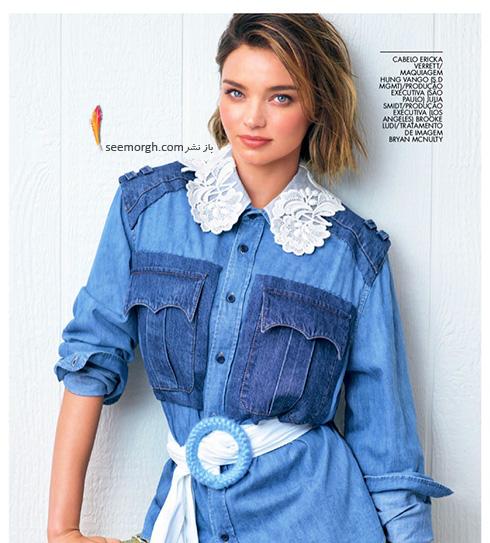 عکس های جدید میراندا کر Miranda Kerr روی مجله ال Elle - عکس شماره 5