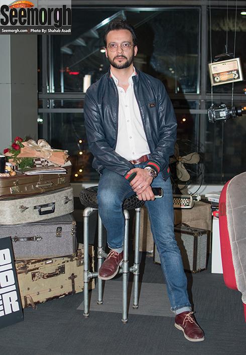 محمد سلوکی در اکران فیلم متولد 65