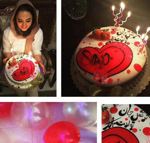 جشن تولد نرگس محمدی