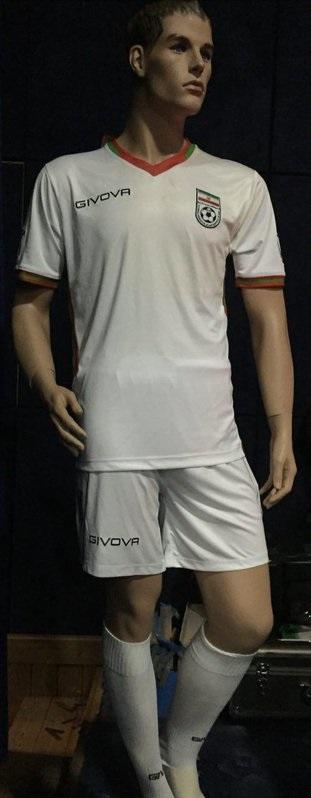 عکس لباس جدید تیم ملی فوتبال