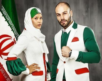عکس لباس های جدید کاروان ایران در المپیک 2016