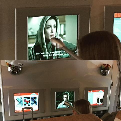 پخش فیلم شیفت شب در هواپیمایی امارات