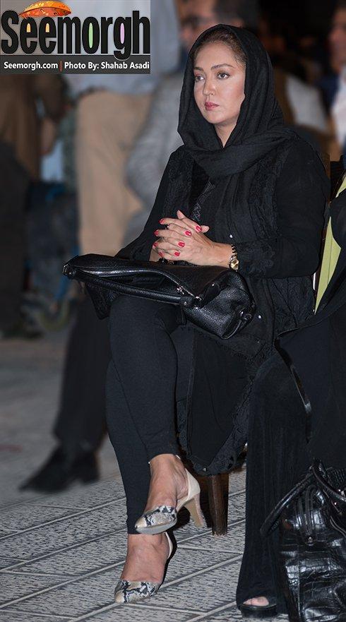 مدل لباس نیکی کریمی در جشن خانه سینما