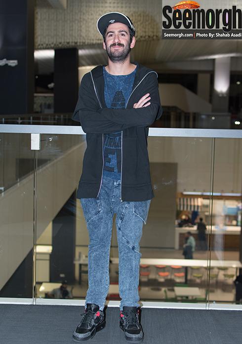 نیما شعبان نژاد در اکران فیلم متولد 65