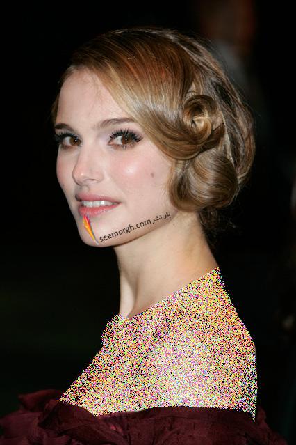 مدل مو متناسب با لباس دکلته و بدون یقه - مدل شماره 2