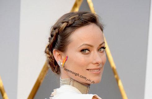 مدل آرایش اولیویا واید Olivia Wide در مراسم اسکار 2016 Oscar