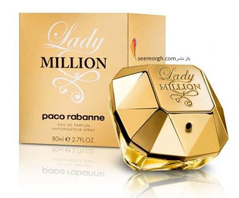 عطر Lady Million از برند paco rabanne