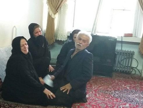 عکس پدر و مادر مهرداد اولادی در کنار عروس شان
