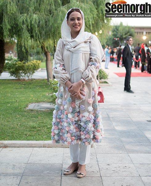 مدل لباس پریناز ایزدیار در جشن حافظ