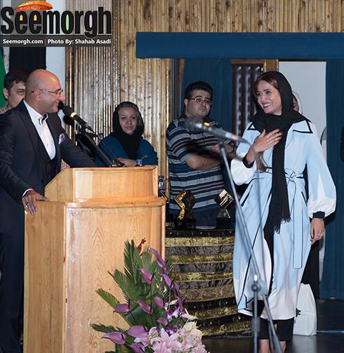 برنده شدن دیپلم افتخار بهترین بازیگر نقش اول زن توسط پریناز ایزدیار