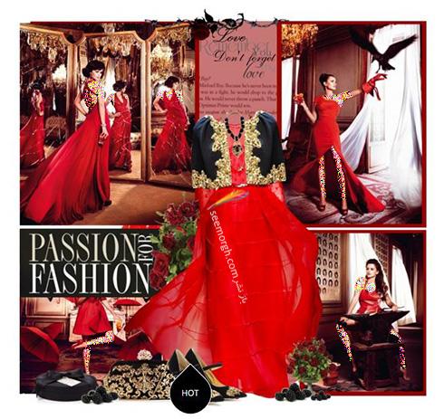 ست کردن لباس شب به رنگ قرمز به سبک پنه لوپه کروز Penelope Cruz - ست شماره 9