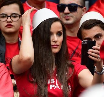تماشگران دختر یورو 2016