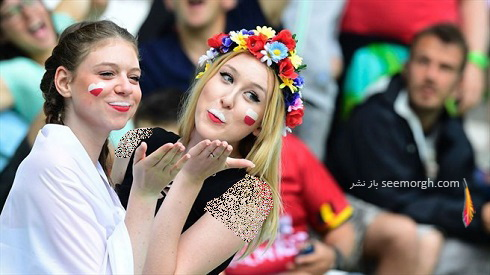 دختران لهستانی در یورو 2016