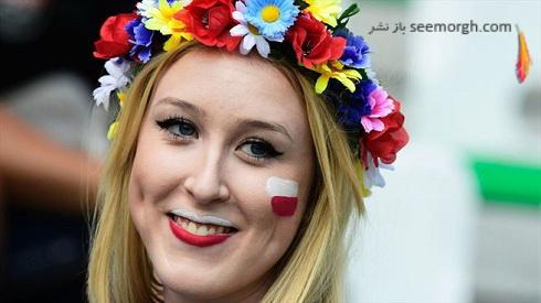 عکس دختران لهستانی در یورو 2016