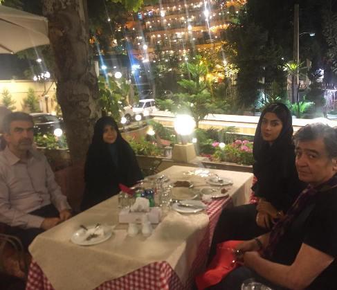 رضا رویگری و همسرش در دربند