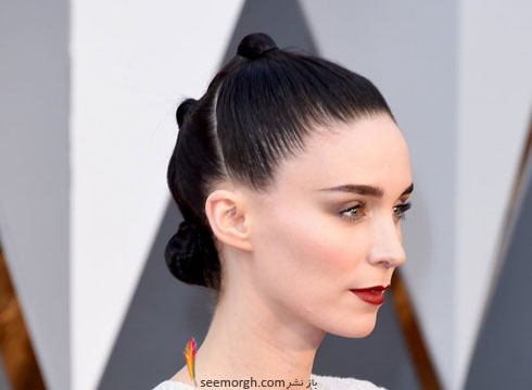 مدل آرایش رونی مارا Rooney Mara در مراسم اسکار 2016 Oscar
