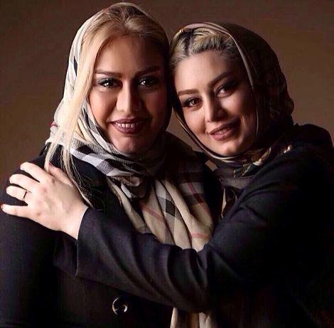 عکس سحر قریشی و مادرش