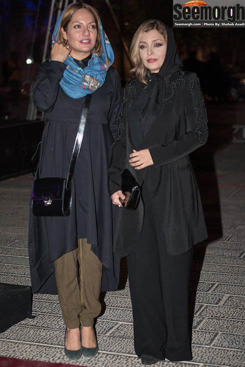 مهناز افشار در کنار ساره بیات