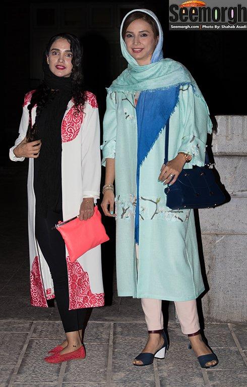 مدل لباس شبنم قلی خانی و الهه حصاری در جشن خانه سینما