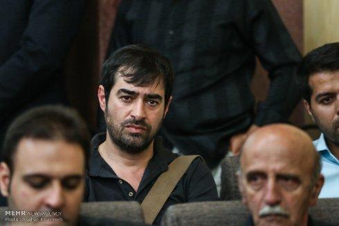 چهره غمگین شهاب حسینی