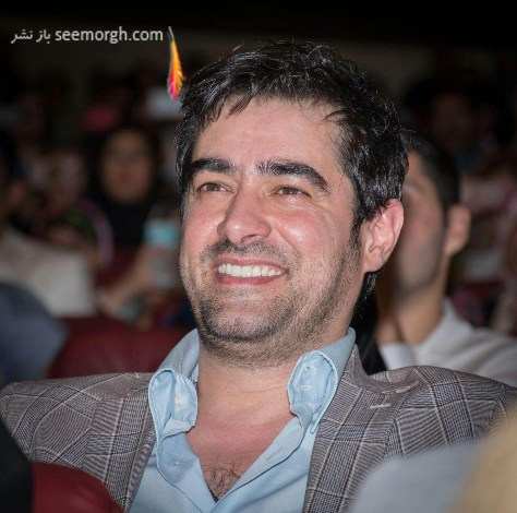 خنده شهاب حسینی در بین حضار