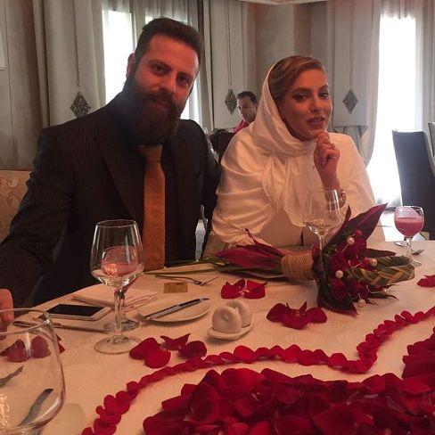 عکس شیما محمدی و همسرش