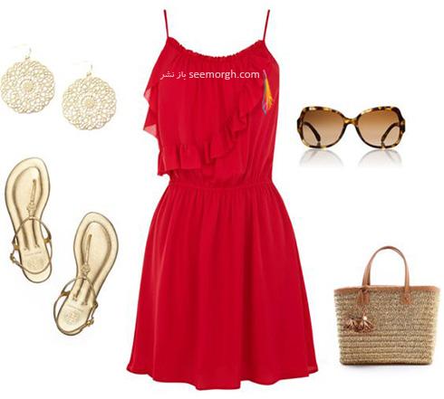 ست کردن لباس برای تابستان - ست لباس شماره 1