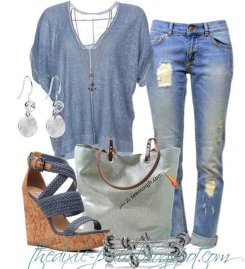 ست کردن لباس برای تابستان - ست لباس شماره 2