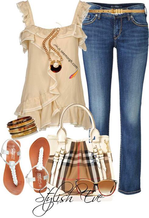 ست کردن لباس برای تابستان - ست لباس شماره 3