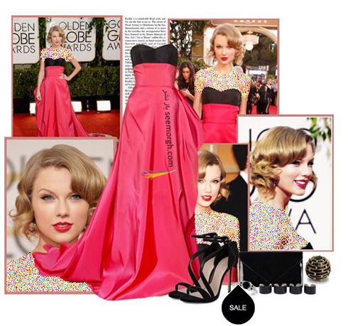 ست کردن لباس شب به سبک تیلور سویفت Taylor Swift - ست شماره 5