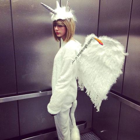 مدل لباس تیلور سویفت Taylor Swift در جشن هالووین 2014