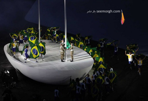 مراسم افتتاحیه المپیک 2016(3)