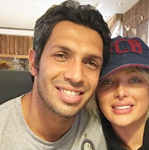 عکس جدید سپهر حیدری و همسرش