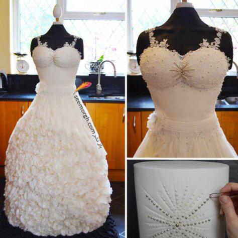 لباس عروس زیبا و خاص!