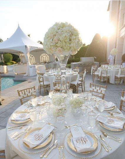 تزیین میز غذای جشن عروسی